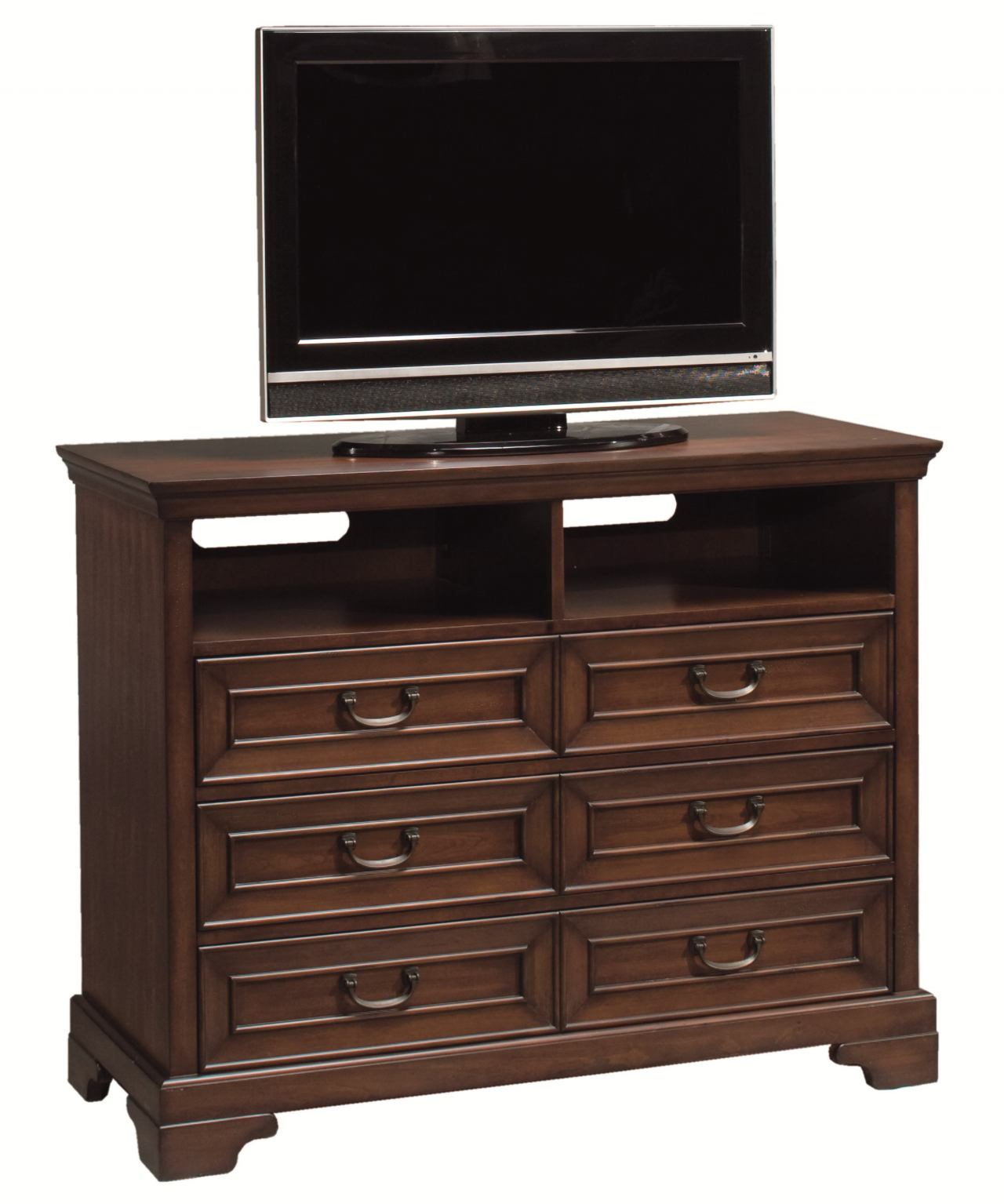 Aspenhome Richmond Entertainment Chest in Charleston Brown I40-485