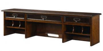 Hammary Mercantile Desk Hutch in Whiskey 050-941