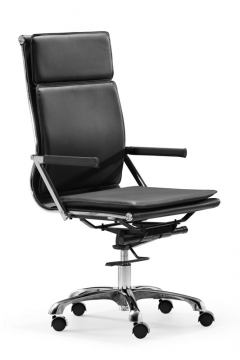 Zuo Modern Lider Plus High Back Office Chair Black 215231