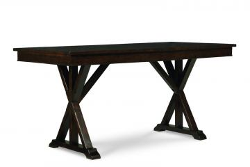 Legacy Classic Thatcher Trestle Table in Amber Finish 3700-621K