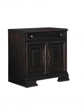 Samuel Lawrence Furniture Lexington Desk Base 4456-922B in Black