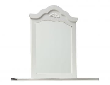 Standard Furniture Daphne Youth Vertical Mirror in Soft White