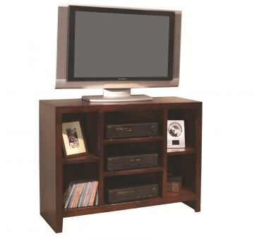 """Aspenhome Essentials Lifestyle 49"""" Open TV Console in Cherry CL1024-CHY"""