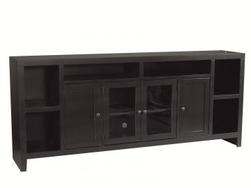 "Aspenhome Essentials Lifestyle 84"" Console in Black CL1036-BLK"