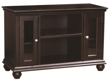 "Aspenhome Essentials Casual Traditional 41"" Console in Black CT1041-BLK"