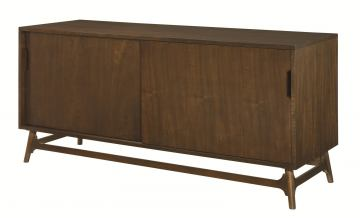 Hammary Mila Entertainment Console in Burnished Copper 384-926