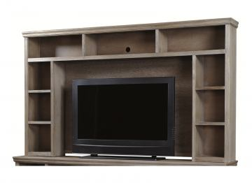 """Aspenhome Canyon Creek 84"""" Console Hutch in Driftwood WCK1036H-DRF"""