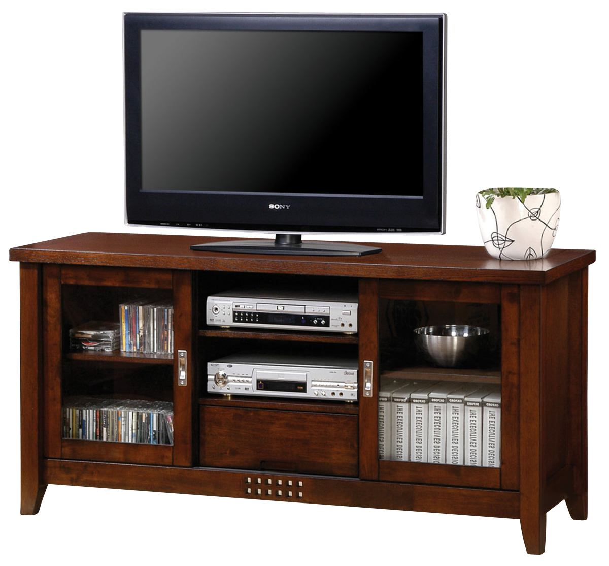 Coaster TV Console in Walnut 700619