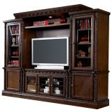 North Shore Traditional Entertainment Center in Dark Brown SPECIAL