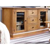 Universal Furniture Paula Deen Home Entertainment Console in Oatmeal 192966