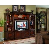 "Hooker Furniture Brookhaven Home Theater Group w/ 56"" Console SALE Ends Aug 19"