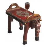 Butler Specialty Red Horse Style Accent Table 1165290