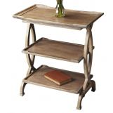 Butler Specialty Butler Loft Two Shelves Side Table in Driftwood 1570247