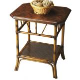 Butler Specialty Heritage Lamp Table Brown/Gold 2951070