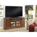 "Parker House Churchill 62"" TV Console with Power Center in Musket CHU#62 CODE:UNIV20 for 20% off"