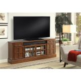 "Parker House Churchill 72"" TV Console with Power Center in Musket CHU#72 CODE:UNIV20 for 20% off"