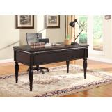 Parker House Venezia Writing Desk in Burnished Black VEN#485