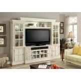 "Parker House Charlotte 4-Piece 72"" Entertainemnt Wall Unit SPECIAL"