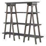 Magnussen Sutton Place Bookshelf in Weathered Charcoal H3612-23