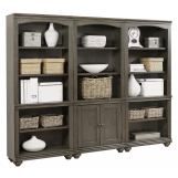 Aspenhome Oxford Bookcase in Peppercorn WILL SHIP IN EARLY JANUARY 2020