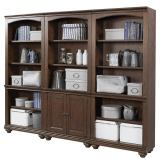 Aspenhome Oxford Bookcase in Whiskey Brown