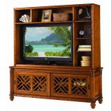 Tommy Bahama Island Estate Nevis Media Console & Hutch SALE Ends Aug 12