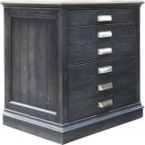 Parker House Lincoln Park Lateral File with Finished Back in Vintage Ash LIN#475 CODE:UNIV20 for 20% off