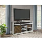 "Parker House Savannah 67"" TV Console with Sliding Doors in Vintage Parchment SAV#67 CODE:UNIV20 for 20% off"